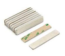Neodymium Block Permanent Magnets with Adhesive Tape