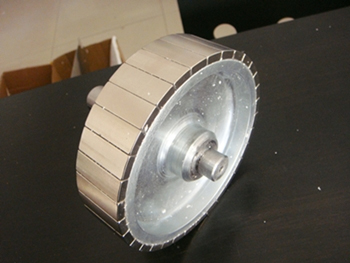 Neodymium Arc Magnets for Motor Rotor