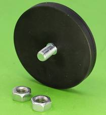 Magnetic Assembly with Rubber Coating